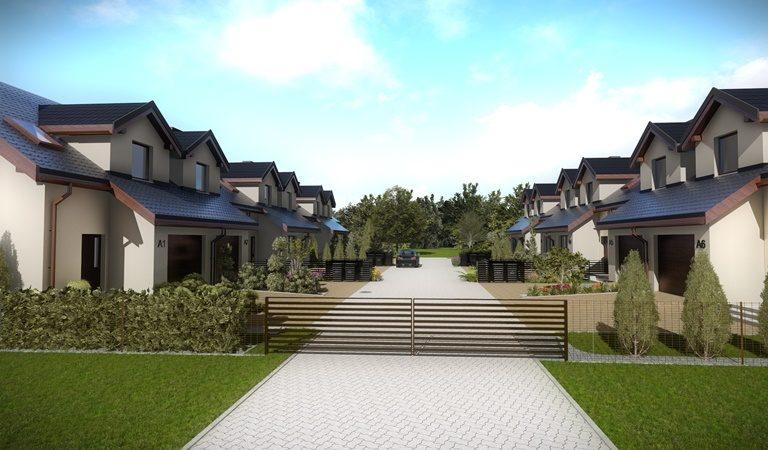 Domy w zabudowie bliźniaczej - Leszno, Gronowo