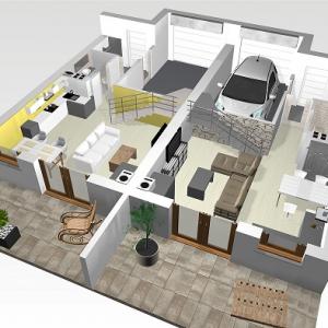 Apartamenty i dom w zabudowie bliźniaczej