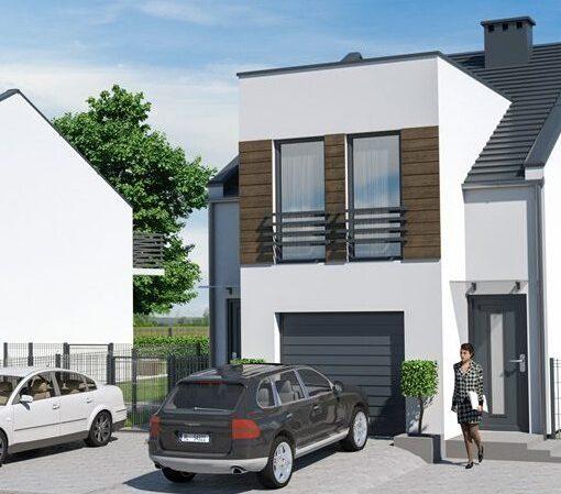 Apartamenty Dąbcze – domy w zabudowie dwurodzinnej